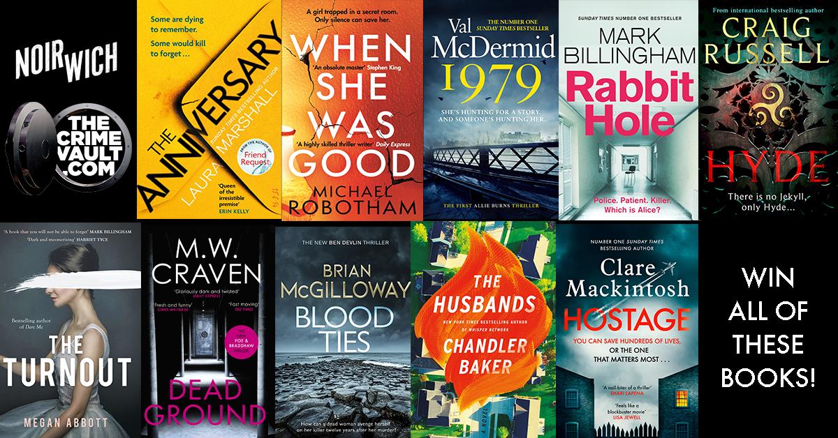 Win a crime fiction book bundle